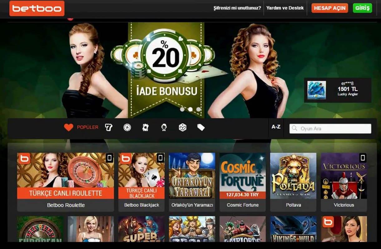 Betboo Bahis ve Casino Sitesi Güvenli Mi