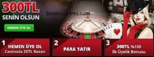 Betboo sitesi casino bonusları nelerdir, sitede ilk yatırım bonusu var mı